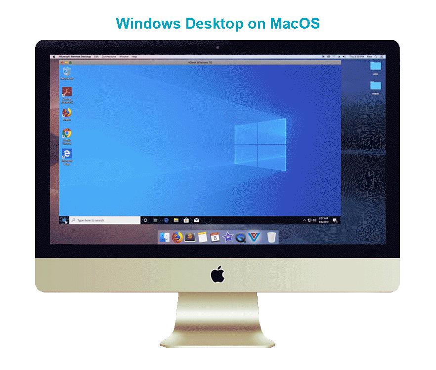 Window Desktop on Mac